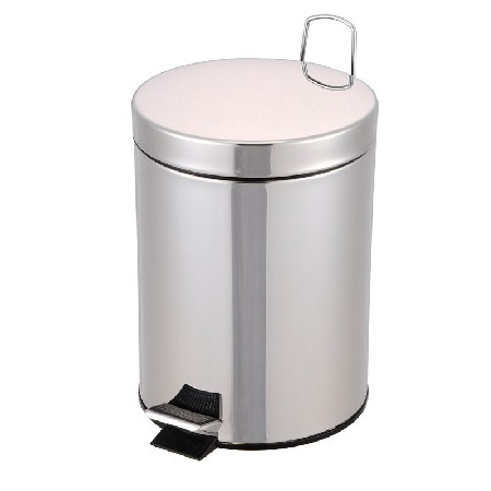 Precautions for transportation of stainless steel trash can